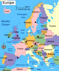 eurpoe map information and thrill europe maps