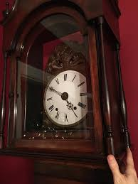 How To Oil A Grandfather Clock We Finally Fixed Our Antique Morbier Grandfather Clock Old