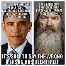 Phil Robertson Memes - lame duck vs duck dynasty the patriot perspective