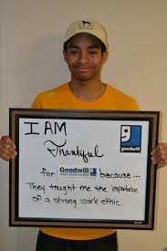 thanksgiving importance horizon goodwill provides opportunity to gain work experience