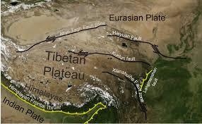 Tibetan Plateau Map Altyn Tagh Fault Wikipedia