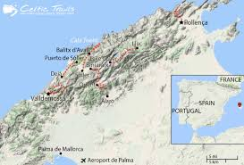 Majorca Spain Map by Walking Holidays In Mallorca Balearic Islands Celtic Trails Walking