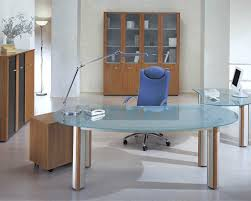 Modern Office Desks Office Modern Office Desks Ideas With Transparent Glass Top