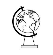globe sketch royalty free vector image vectorstock