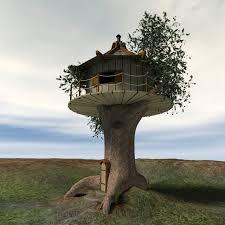 model tree house 45degreesdesign