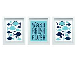 Fish Home Decor Kids Bathroom Rules Or Boy Bathroom Decor Fish Bathroom