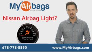 nissan maxima airbag light stays on nissan srs airbag light on after accident clear all codes and