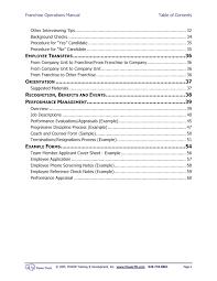 powertd franchise feasibility consultants advantages of