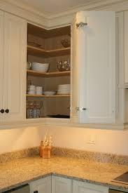 kitchen brown wood corner cabinet brown wood glass cabinet door