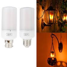 led flame effect fire light bulbs 3 modes led flame effect simulated nature fire light bulb e26 e27