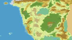Map Of Faerun Forgotten Realms Spriggan U0027s Den