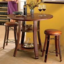 Black Bistro Table And Chairs Furniture Piece Bar Table Sets In Red With Rectangular Made Of