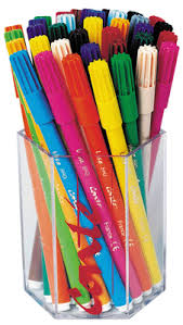 Feutre coloriage pointe moyenne visa assorti  pot de 36 Bic kids