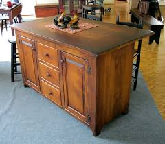 amish furniture kitchen island vintage creations sam kitchen islands sinks microwave