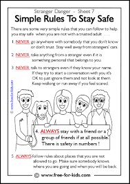 free printable stranger danger coloring pages 15 coloring