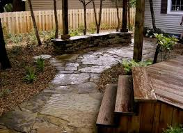 Natural Stone Patio Ideas Low Maintenance Landscape Natural Stone Patio Lawrence Ks