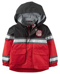 jersey lined fireman raincoat carters
