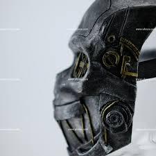 Dishonored Mask Dishonored Mask Corvo Attano Costume Cosplay Halloween U2013 Ufosea