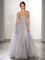 dusty wedding dress 20 dreamy blue wedding gowns