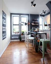 Small Apartment Kitchen Designs by Minimalist Kitchen Design With Small Furniture Hupehome
