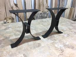 metal end table legs steel bench base ohiowoodlands metal table legs bench legs accent