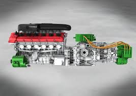 laferrari engine hy kers hybrid setup for rear engine v12s expect it in