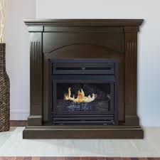 real flame valmont 76 in media console ventless gel fuel