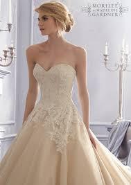 hem wedding dress mori bridal 2674 lace hem wedding dress