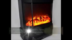 akdy standing electric fireplace gv330 youtube