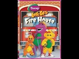 Opening Closing To Barney U0026 by Opening U0026 Closing To Barney Let U0027s Go To The Firehouse 2007 Dvd