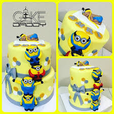 minion baby shower baby shower cakes