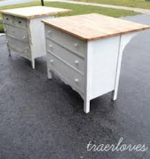 how to make a small kitchen island wonderful kitchen island made out of dresser furniture makeover
