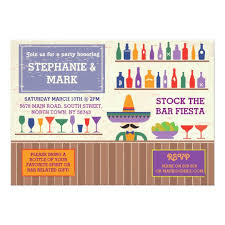 stock the bar party stock the bar party mexican tequila invite zazzle