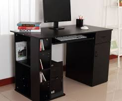 Under Desk Laptop Shelf Desk Computer Desk With Printer Storage Curious Computer Desk