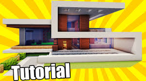 easy modern house minecraft tutorial minecraft easy modern house