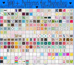 400 patterns for photoshop by toni190 on deviantart