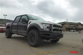 ford hunting truck 2017 ford raptor super crew prototype spied high altitude testing