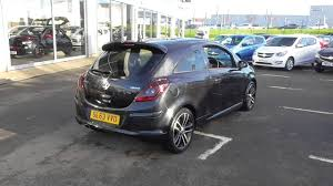 vauxhall corsa black vauxhall corsa 1 4t black edition 3dr u18301 youtube
