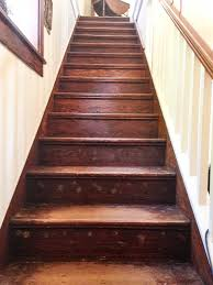 Refinished Hardwood Floors Before And After How To Refinish Wood Stairs She Holds Dearly
