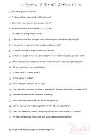 Great Questions To Ask A Questions To Ask A Wedding Venue B71 On Images Selection M65