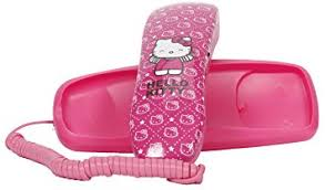 amazon kitty slim phone pink 14062 corded
