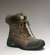 ugg adirondack boot ii s cold weather boots ugg adirondack boot ii leather in the color obsidian