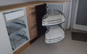 kitchen corner cupboard rotating shelf remove the clutter in your kitchen cupbaords with smart