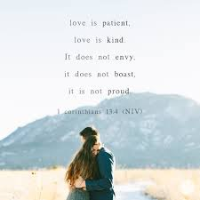 marriage proverbs is patient is 1 corinthians 13 4 proverbs