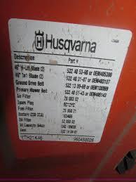 2011 husqvarna yth21k46 lawn mower item b5414 sold wedn