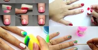 how to do nail art at home without tools archives