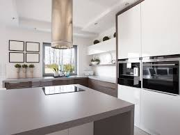 Learn Kitchen Design by Hollywell Kitchen Grey Island Window Splashback Integrated