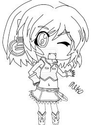 vocaloid coloring pages vocaloid seeu line art suppiechan25 on