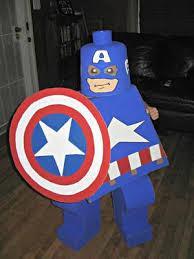 Kids Lego Halloween Costume America Lego Kid