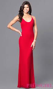 valentines dress open back prom dress promgirl
